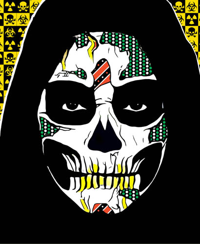 grimm reaper day of the dead art